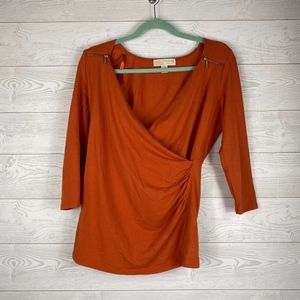Michael Kors I Burnt Orange Tunic